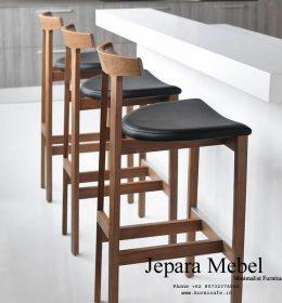 harga kursi bar, kursi bar, kursi bar minimalis, ukuran kursi bar kursi bar kayu, Kursi Bar Kayu Jati, khamila furniture,Kursi Bar Eopa Kayu Jati High Quality
