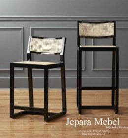 harga kursi bar, kursi bar, kursi bar minimalis, ukuran kursi bar kursi bar kayu, Kursi Bar Kayu Jati, khamila furniture,Kursi Bar Sool Kayu Jati Hitam