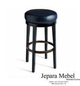 harga kursi bar, kursi bar, kursi bar minimalis, ukuran kursi bar kursi bar kayu,Kursi Bar Stool Kayu Jati Dudukan Kulit