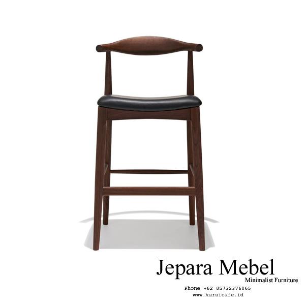 harga kursi bar, kursi bar, kursi bar minimalis, ukuran kursi bar, kursi bar kayu,Kursi Mini Bar Kayu Jati Solid